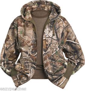 DRI-DUCK-REALTREE-AP-HD-or-WOOD-Fleece-CAMO-Jacket-SIZE
