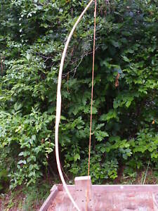 Handcrafted-Youth-Training-Bow-made-of-Hickory
