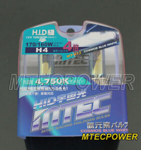 mtec h4 hb2 9003 4x xenon cosmos blue white bulbs ebay. Black Bedroom Furniture Sets. Home Design Ideas