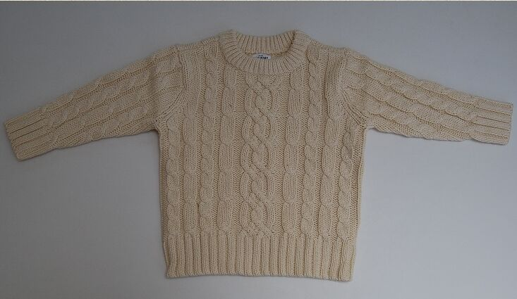 Old Navy Sweater Classic Cable Knit Kids Sweater $19.50 Size 3t With Tags