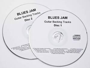 32 Blues Jam Guitar or harmonica Backing Tracks