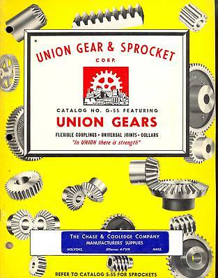 1955-UNION-GEARS-CATALOG-G-55-Couplings-Joints-Collars