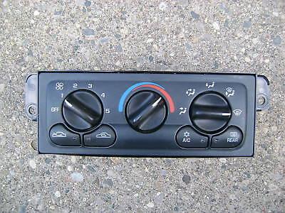 99   03 Chevy Malibu A C Heater Climate Temperature Control