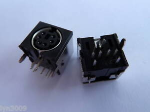 MINI-Din-Socket-Connector-PCB-6-Pin-Pack-of-2
