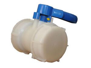 Robinet pour cuve de 1000 litres sur palette