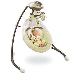 Fisher-Price-My-Little-Snugabunny-Baby-Cradle-n-Swing