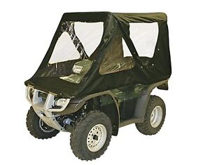 ATV-QuikCab-Full-Enclosure-Convertible-Weatherproof-Hunters-Haven-Black-NEW