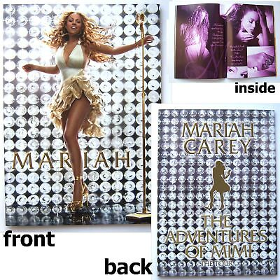 MARIAH CAREY! ADVENTURES OF MIMI TOUR BOOK NEW MINT!!