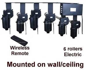 6 Roller Motorized Electric Background Support System Ebay