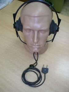 Headphones-3200-Ohm-Military-USSR-HAM-RADIO-New-1