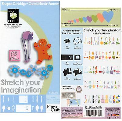 Stretch Your Imagination Cricut Cartridge Die Cutting Cartridge