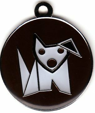 Color Filled Heavy Duty Brown Dog Pet Tag Free Ssh Us