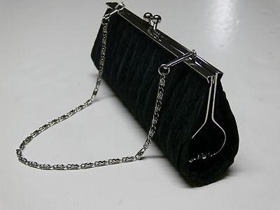 New-Elegant-Satin-Pleated-Bridal-Evening-Clutch-Handbag