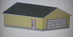 Image Is Loading 24 039 X 32 GARAGE SHOP PLANS