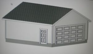 20 x 24 garage shop plans materials list blueprints plan 1037 for 20 x 24 garage plans