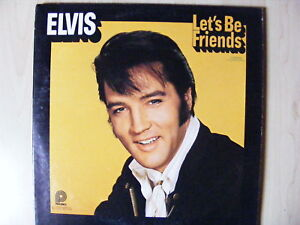 Elvis-Presley-LP-Elvis-Lets-Be-Friends-Pickwick-1970