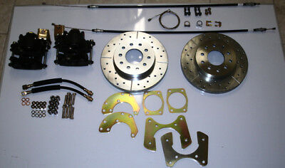 """ford 8"""" or 9"""" small bearing rear disc brake conversion"""