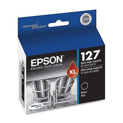Epson Nx530 T127 127 Black Printer Ink Workforce 845 645 ...