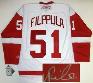 Image result for filppula jersey red wings