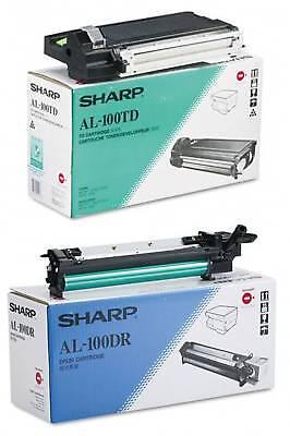 Genuine Sharp Al100td / Al100dr Toner & Drum Set