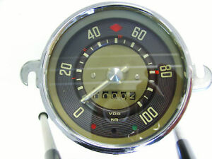 vw bus t1 samba tacho tachometer speedometer to ebay. Black Bedroom Furniture Sets. Home Design Ideas