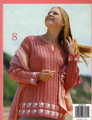 Sweaters With Beautiful Stripe Designs To Knitting Pattern Book