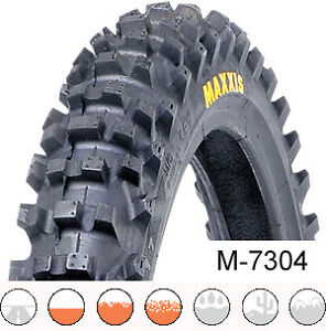 80 100 21 Maxxis M7304 Maxx Cross IT Tyre MX Enduro Road legal E Marked