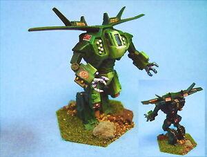 slåsstech Flamberge målad slåssmech NCC