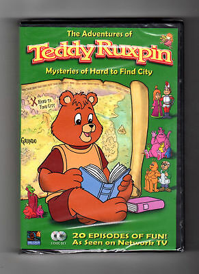 Adventures Of Teddy Ruxpin - Mysteries Of Hard To Find (dvd) 20 Episodes