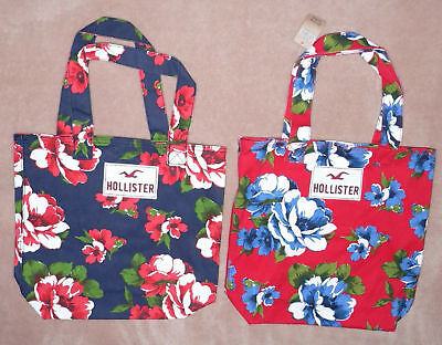 Hollister Classic Floral Beach Tote Bag Purse