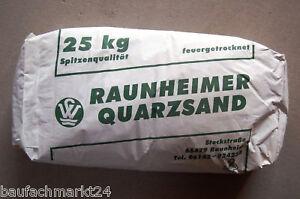 0,7-1,25 mm Quarzsand 25 kg