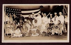 Snapshot: SS Mongolia,Ship-board Costume Party, US Flag