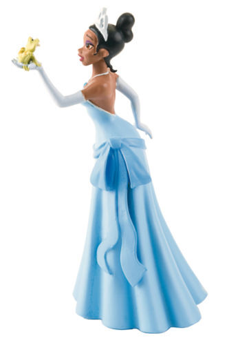 Bullyland Princess Tiana Figurine With Frog | eBay