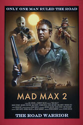 Mad Max 2 The Road Warrior Mel Gibson Collectibleart Movie Poster 24x36 New Mmx2
