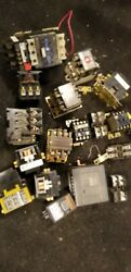 Allen Bradley And Others Lot Industrial Commercial Relay Timer  Controls Parts +