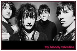 My Bloody Valentine - Large Poster - Kevin Shields Shoegaze