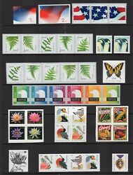 Us 2015 Nh Complete Definitive Year Set 42 Stamps Scanned Below -free Ship Usa