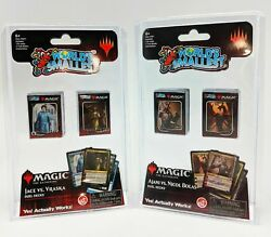 World's Smallest Magic The Gathering Duel Decks Series 1 & 2  Card Packs