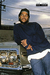 Ice Cube - Music / Personality Poster (chevy Impala) (size: 24