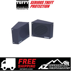 Tuffy Security Products Speaker Security Box Set For 76-95 Jeep Cj & Wrangler Yj