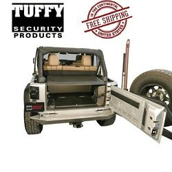 Tuffy Security Products Deluxe Deck Enclosure Fits 2011-2018 Jeep Wrangler Jk