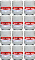 Sudocrem Antiseptic Healing Cream 12 Pack 125g - Free Shipping From U.s