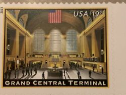 Us 4739 Grand Central Terminal Single Mnh