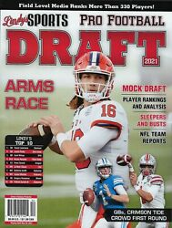 Lindy's Sports Pro Football  Draft 2021   Arms Race
