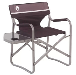 Folding Portable Camping Chair Brown For Outdoor Activities