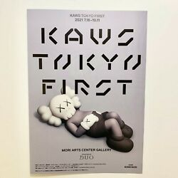 Kaws Tokyo First 2021 Flyer Brochure Pamphlet Limited New