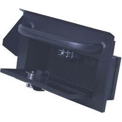 Tuffy Products Security Glove Compartment W/ Grab Bar Black 87-95 Jeep Wrangler