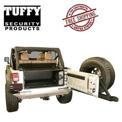 Tuffy Security Products Tailgate Enclosure 11-18 Jeep Wrangler Unlimited 4 Door