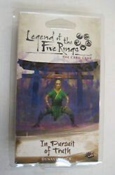 Legend Of The Five Rings L5r In Pursuit Of Truth New & Sealed