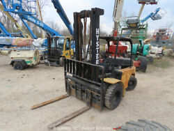 Hyster H60c 6,800 Lbs Warehouse Industrial Forklift Lift Truck -parts/repair